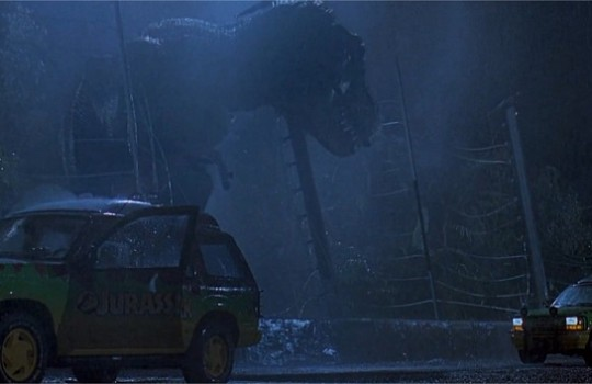 T. Rex Paddock Jurassic Park 1993
