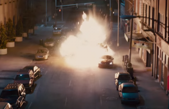 Drone chase scene Los Angeles & Atlanta Fast and Furious 7 filming locations