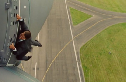 Plane scene in Mission: Impossible - Rogue Nation (2015)