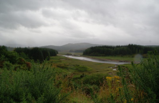 Loch Laggan, Highlands, Scotland weekend road trip