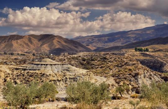 Desert Hills of Tabernas, Almería, Andalusia, Spain Exodus Movie Locations | LegendaryTrips