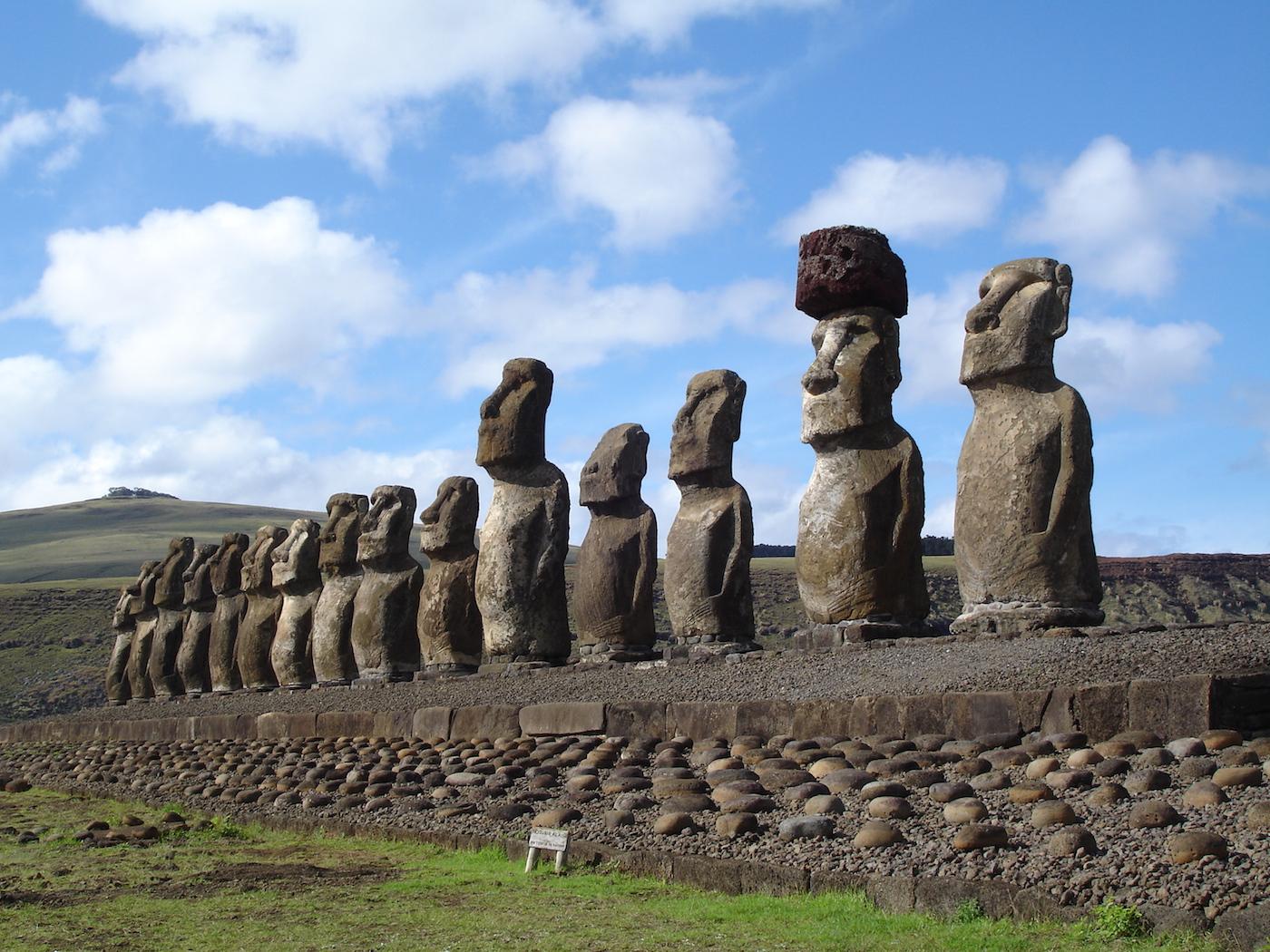 Easter Island, Ahu, Chile