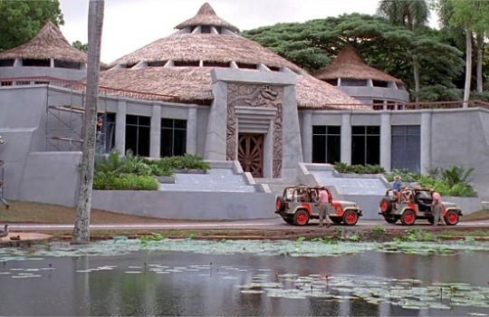Visitor Center, Hawaii, Jurassic Park (1993)