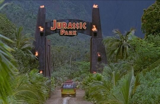 Jurassic Park gates Mount Wai'ale'ale Kauai Hawaii