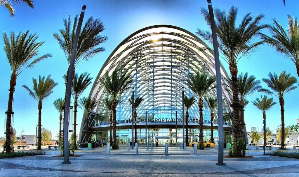 Anaheim Regional Transportation Intermodal Center California True Detective season 2 filming locations