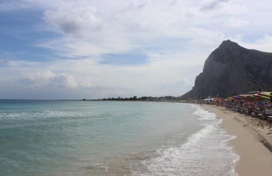 Beach at San Vito Lo Capo, Sicily, Italy
