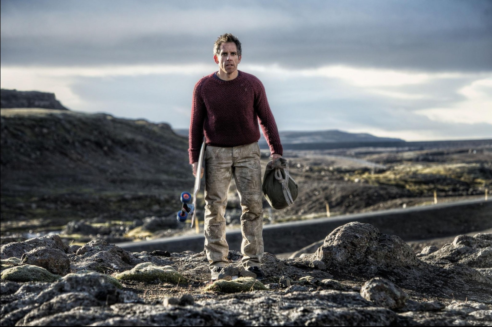 Ben Stiller in Iceland, The Secret Life of Walter Mitty
