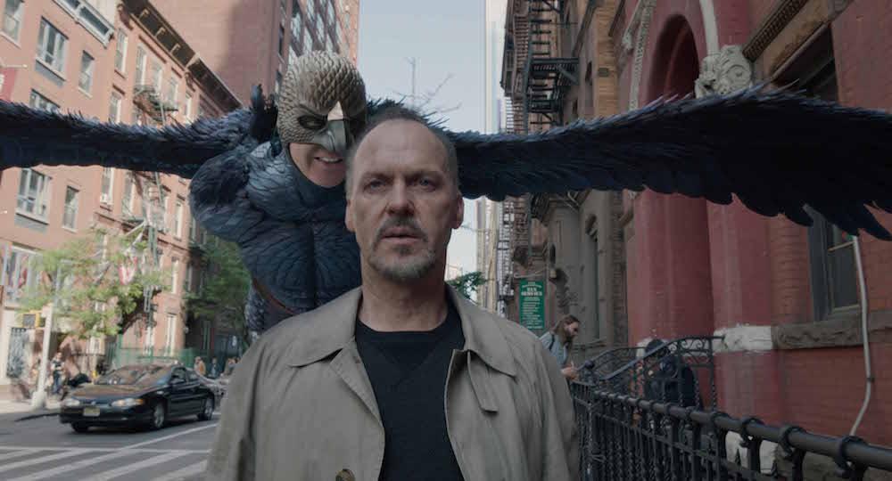 Riggan (Michael Keaton) in Birdman film 2014