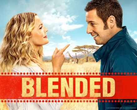 Drew Barrymore and Adam Sandler in South Africa in Blended (2014). The main filming location of Blended is Sun City.