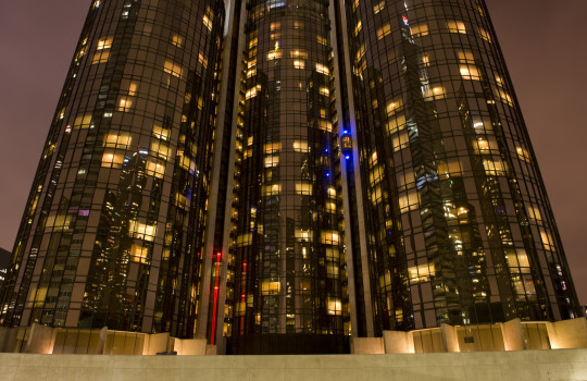 Towers of the Bonaventure Hotel, Los Angeles