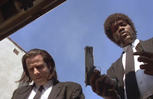 Jules and Vincent park their car near Harold Way in Hollywood to surprise Brett and his partners at breakfast Pulp Fiction filming locations LegendaryTrips
