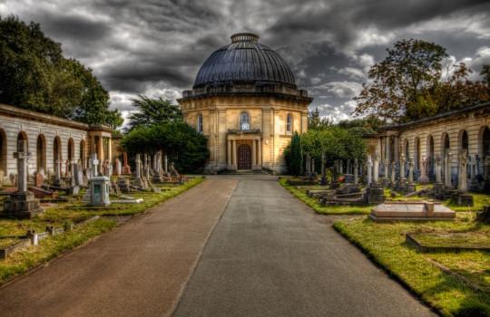 Brompton Cemetery, Earl's Court, London