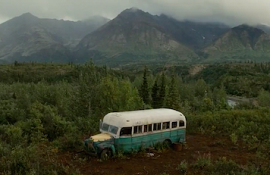 Into the Wild filming ...