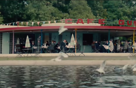Brockwell Park, London, Cafe Gustav, Berlin, The Man from UNCLE filming locations (2015)