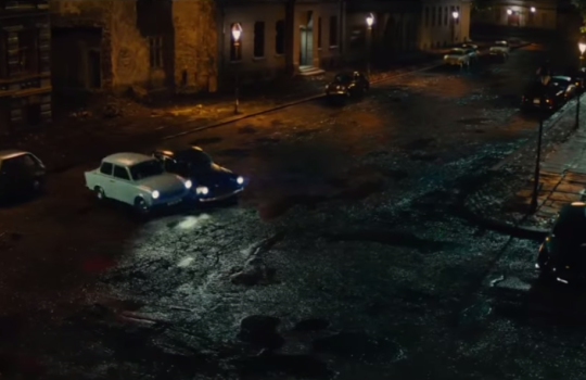 Car chase in Berlin, Chatham Historic Dockyard, Old Royal Naval College of Greenwich, The Man from Uncle 2015