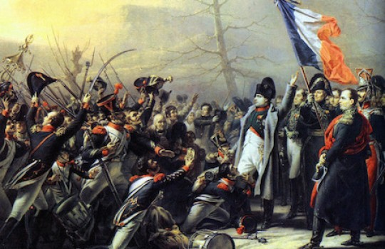 La Route Napoléon, the legendary road followed by the Emperor during the Hundred Days (Cent-Jours)