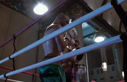 Boxing fight St. Mary's church Southpaw shooting locations