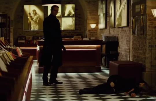 Classi Clean, Record Shop, London, Mission: Impossible - Rogue Nation (2015)