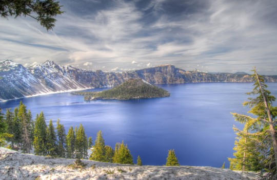 Crater Lake Oregon United States Wild (2014) filming locations and itinerary