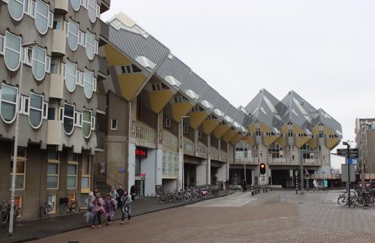 Cube Houses, Blaak, Rotterdam, Netherlands, 24 hours in Rotterdam itinerary LegendaryTrips