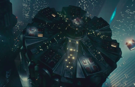 Cylindrical tower, Police Station Blade Runner (1982)