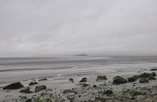 Tombelaine island (Normandy, France) walk at low tide | Mont Saint-Michel winter escape | LegendaryTrips