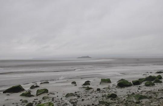 Tombelaine island (Normandy, France) walk at low tide | Mont Saint-Michel winter escape | LegendaryTrips