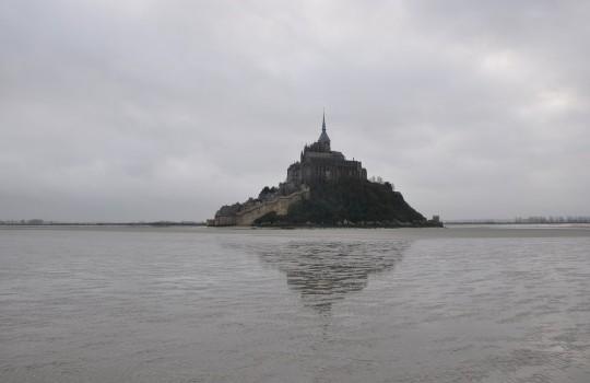 Mont Saint Michel (Normandy, France) walk at low tide | Mont Saint-Michel winter escape | LegendaryTrips
