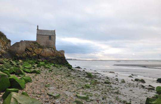 Chapelle Saint-Aubert at Mont Saint Michel (Normandy, France) walk at low tide | Mont Saint-Michel winter escape | LegendaryTrips