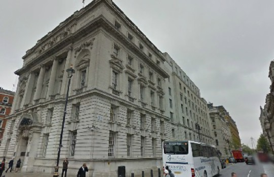 Department of Energy and Climate Change, Whitehall, Westminster, London, United Kingdom | Skyfall filming locations LegendaryTrips