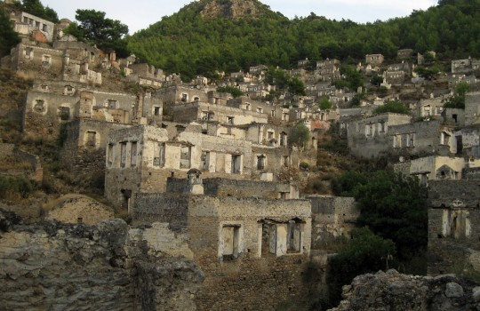 Deserted village of Kayaköy, Turkey