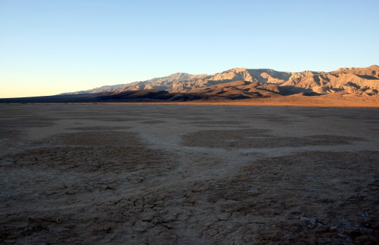 Jean Dry Lake Bed in Death Valley