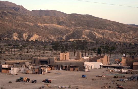 Exodus set in Pechina, Andalusia, Spain