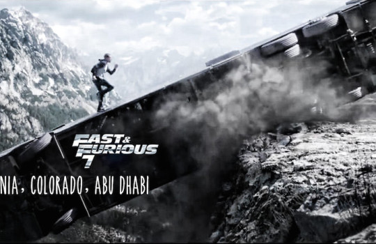 Fast and Furious 7 filming locations