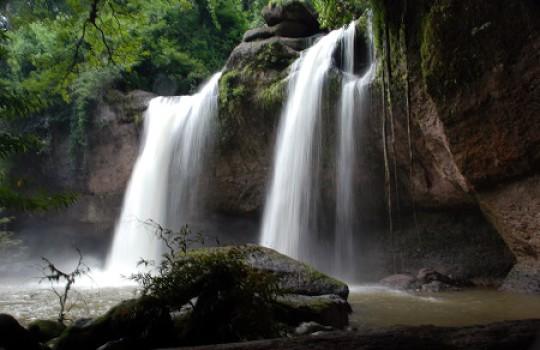 Haeo Suwat Falls, Khao Yai National Park, Thailand