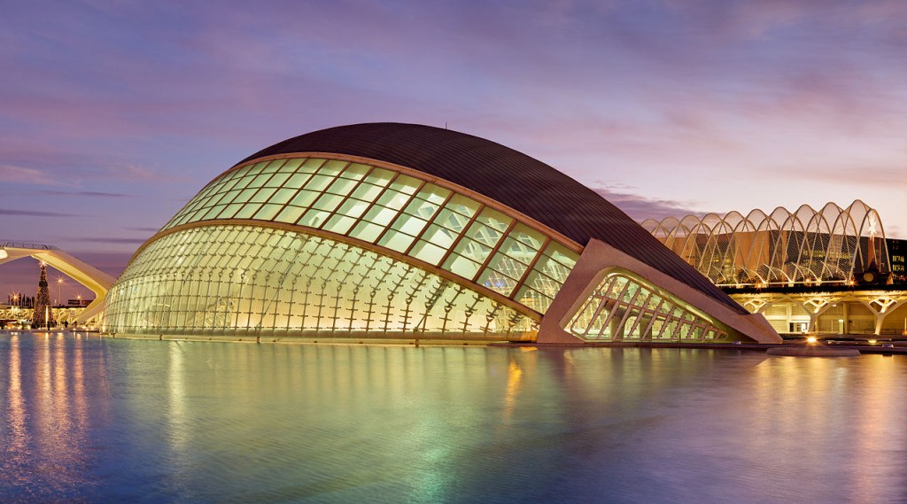 L'Hemisfèric City of Arts and Sciences Valencia Spain