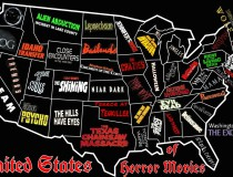 Thrilling Horror Movie Map of the United States!