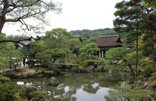 Temple of the Silver Pavilion Ginkaku-ji Kyoto