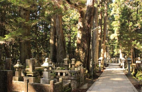 Okunoin cemetery Koyasan Japan