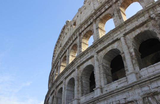 The Colosseum in Rome