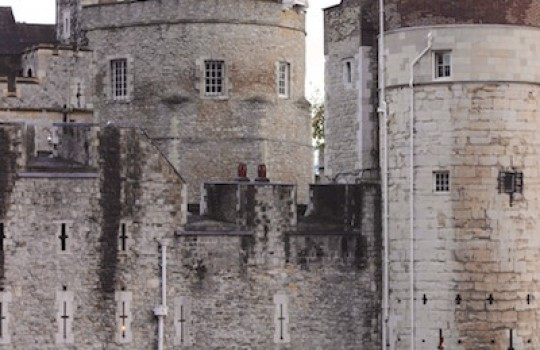 The Tower of London and the sea of red