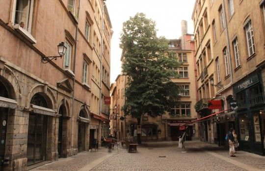 Quartier Saint-Jean in Vieux Lyon (Saint Jean quarter)