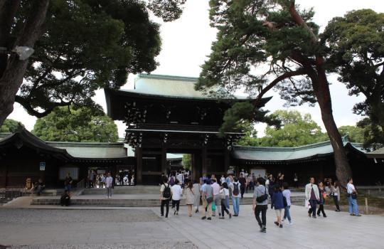 Meiji-jingu Tokyo Japan