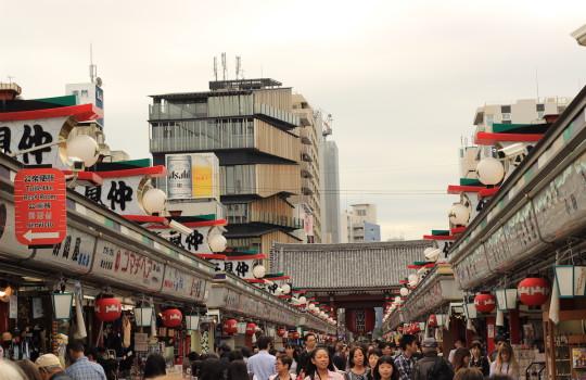 Market in Asakusa Tokyo Japan