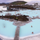 View of the Blue Lagoon in Iceland
