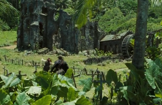 Pirates of the Caribbean Dead Man's Chest filming locations