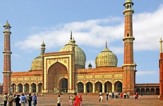 Jama, Masjid, Delhi, India