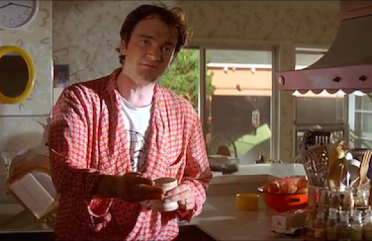 Jimmy (played by Quentin Tarantino) at his house in Toluca Lake Pulp Fiction filming locations LegendaryTrips