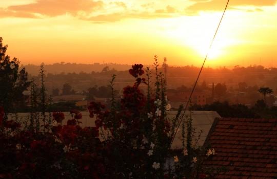 Kampala Sunset Uganda