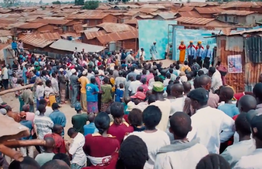 Slums of Kibera, Nairobi, Kenya, The Constant Gardener (2005)